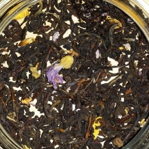 Black Tea Merlot Dry Leaves